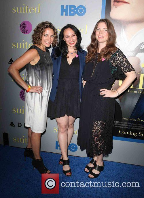 (l-r) Producers Stacy Reiss, Carly Hugo and Ericka Naegle 1