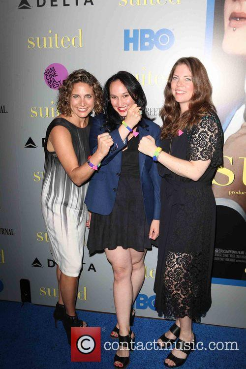 (l-r) Producers Stacy Reiss, Carly Hugo and Ericka Naegle 2