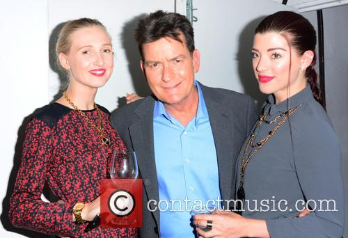 Tamara Orlova Alvarez, Charlie Sheen and Marie Louise Smith 2