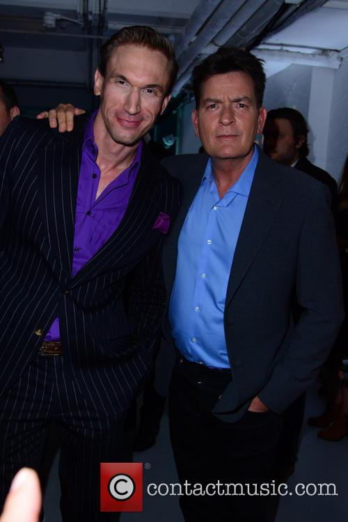 Charlie Sheen and Guest