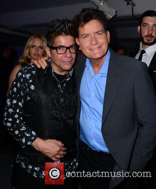 Joe Alvarez and Charlie Sheen 2