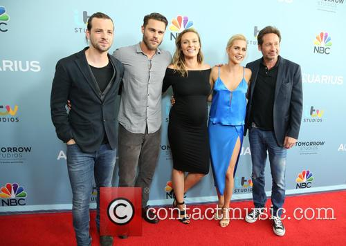 Gethin Anthony, Grey Damon, Michaela Mcmanus, Claire Holt and David Duchovny 2
