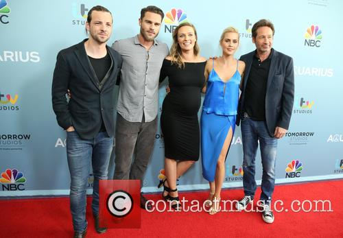 Gethin Anthony, Grey Damon, Michaela Mcmanus, Claire Holt and David Duchovny 4
