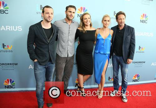 Gethin Anthony, Grey Damon, Michaela Mcmanus, Claire Holt and David Duchovny 6
