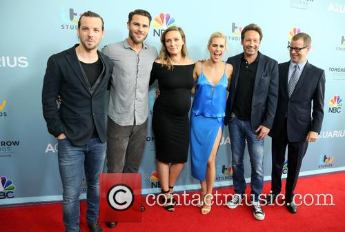 Gethin Anthony, Grey Damon, Michaela Mcmanus, Claire Holt, David Duchovny and John Mcnamera 8