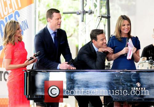 Natalie Morales, Willie Geist, Carson Daily and Savannah Guthrie 1