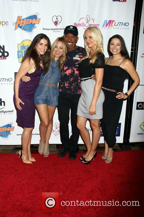 Alison Waite, Jessica Hall, Montel Williams, Stacy Fuson and Pilar Lastra 8