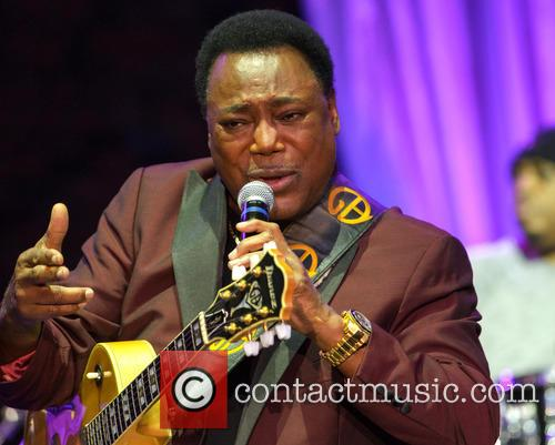 George Benson performs at the Hampton Court Palace...