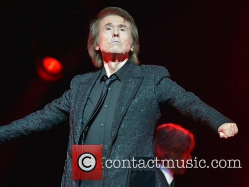 Singer Raphael performs live in concert
