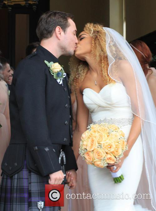 Tianna Chanel Flynn and Martin Compston 1