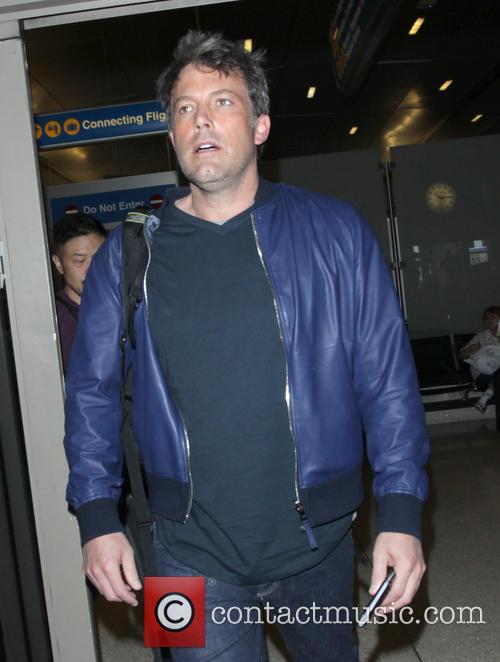 Ben Affleck arrives at Los Angeles International (LAX)...