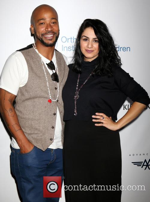 Columbus Short and Fiance Aida Abramyan 5