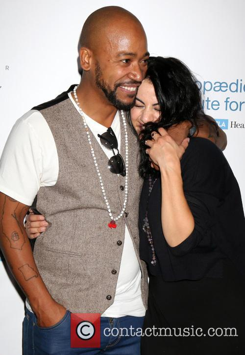 Columbus Short and Fiance Aida Abramyan 6