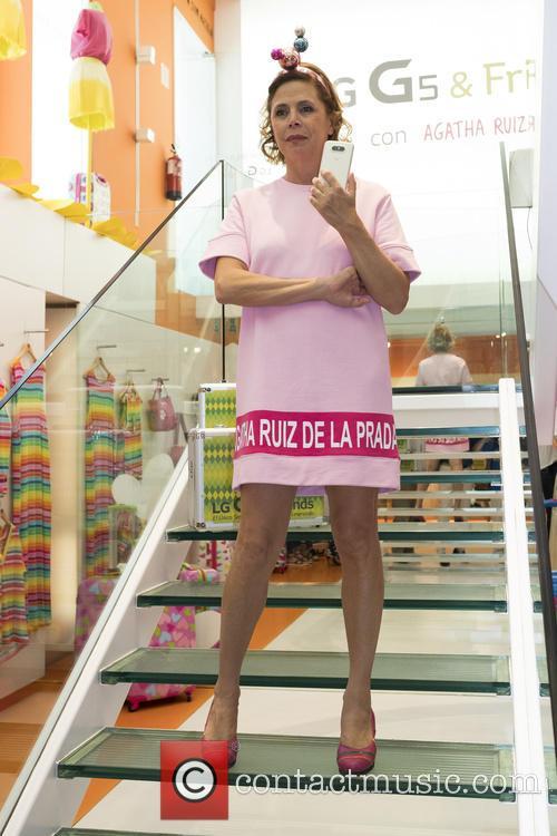 Agatha Ruiz de la Prada unveils the new...