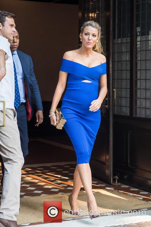 Blake Lively leaving her hotel