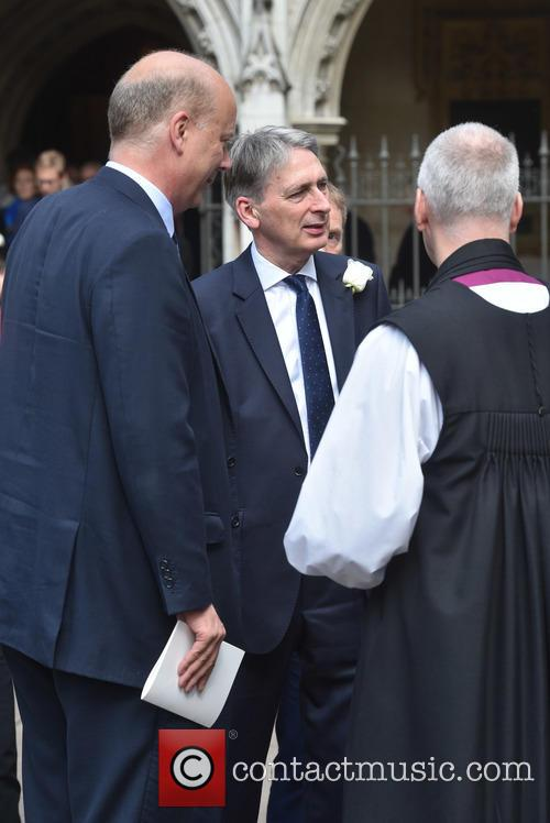 Chris Grayling, Philip Hammond and Justin Welby 2