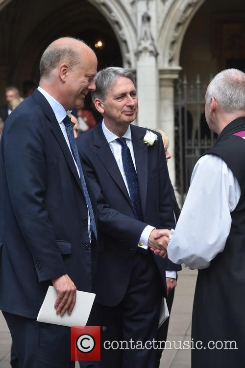 Chris Grayling, Philip Hammond and Justin Welby 3