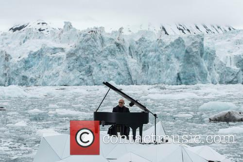 Greenpeace holds historic performance by pianist Ludovico Einaudi...