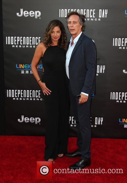 Kymberly Kalil and William Fichtner 1