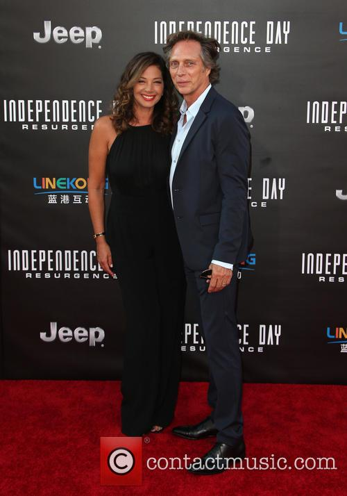 Kymberly Kalil and William Fichtner 5