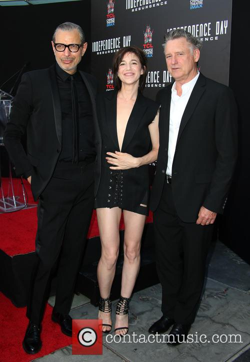 Jeff Goldblum, Charlotte Gainsbourg and Bill Pullman 6