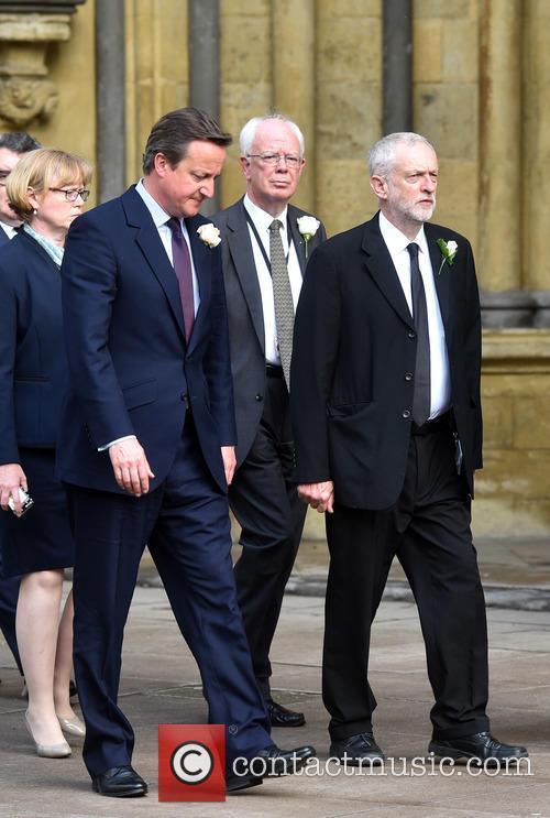 David Cameron and Jeremy Corbyn 1