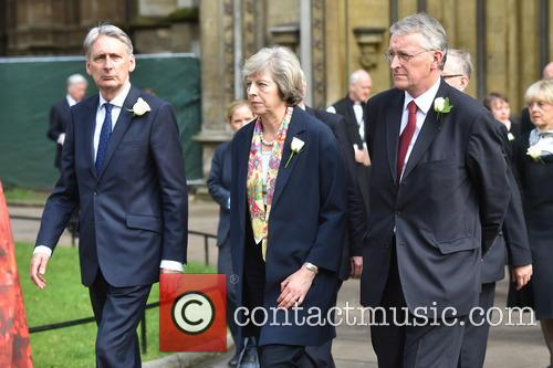 Philip Hammond, Theresa May and Hilary Benn 1