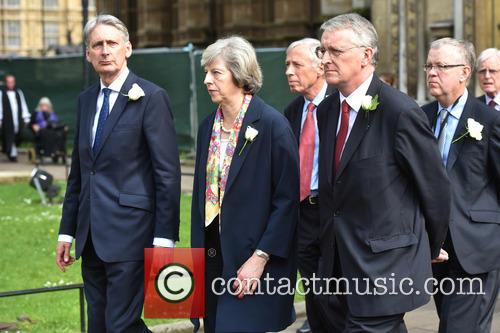 Philip Hammond, Theresa May and Hilary Benn 2