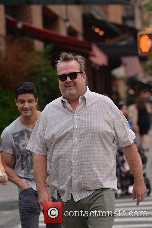 Eric Stonestreet out in Soho