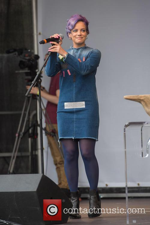 Lily Allen Hits Back At Grief Dig On Twitter
