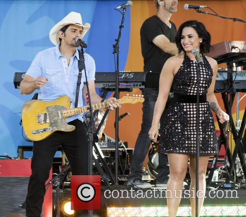Brad Paisley and Demi Lovato 3