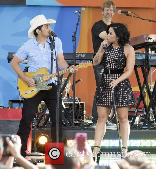 Brad Paisley and Demi Lovato 5