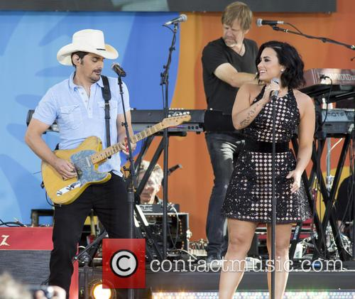 Brad Paisley and Demi Lovato 6