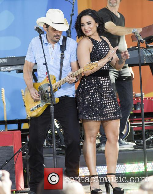 Brad Paisley and Demi Lovato 10