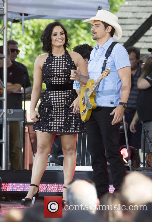 Demi Lovato and Brad Paisley 2