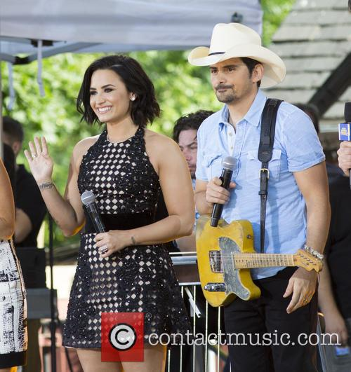 Demi Lovato and Brad Paisley 3