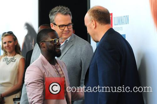 Louis C.k., Eric Stonestreet and Kevin Hart 3