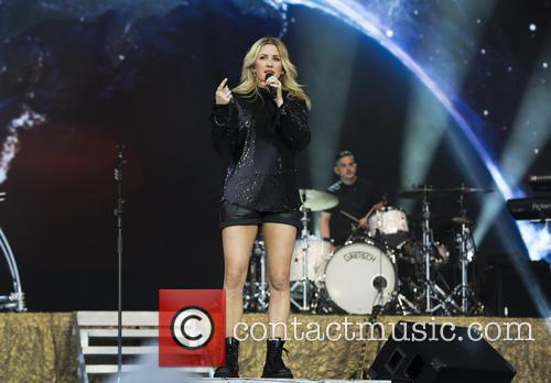 Ellie Goulding at Glastonbury