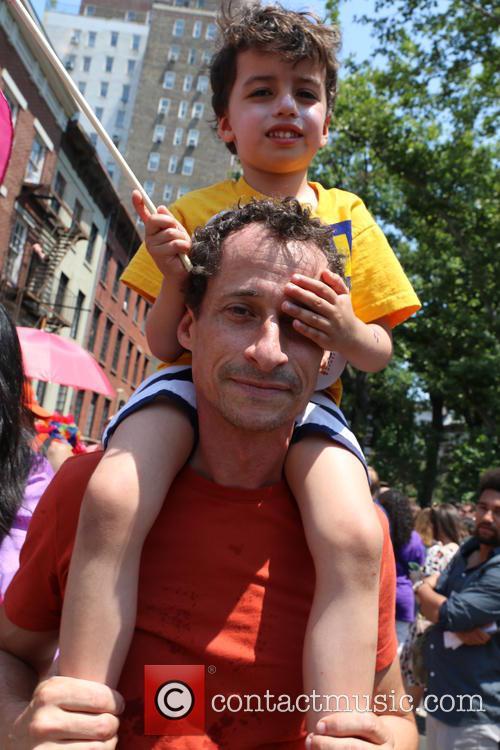 Anthony Weiner and Jordan Zain Weiner 1