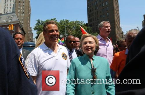 Andrew Cuomo and Hilary Clinton