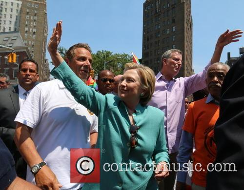 Andrew M. Cuomo and Hilary Clinton 1