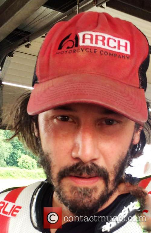 Keanu Reeves and Brands Hatch 1