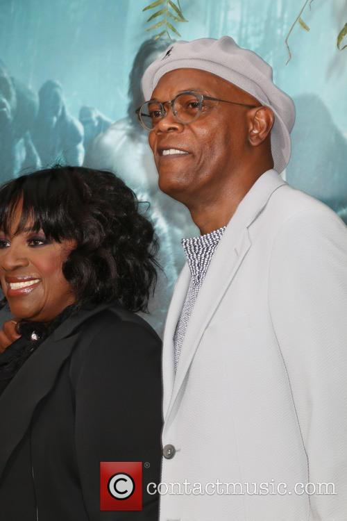 Latanya Richardson-jackson and Samuel L. Jackson 1