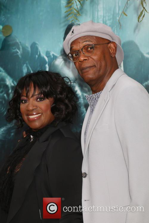 Latanya Richardson-jackson and Samuel L. Jackson 2