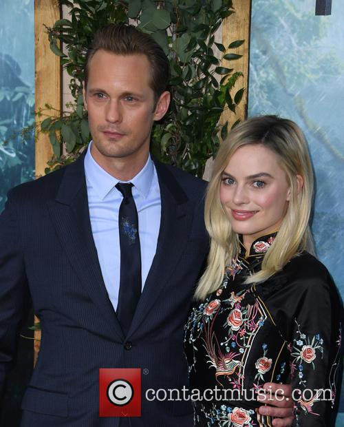 Alexander Skarsgard and Margot Robbie 3