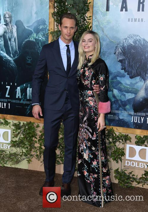 Alexander Skarsgard and Margot Robbie 4
