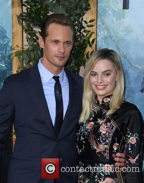 Alexander Skarsgard and Margot Robbie 5