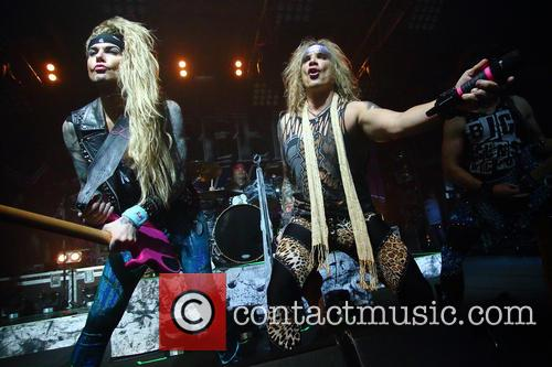 Steel Panther, Lexxi Foxx and Michael Starr 8