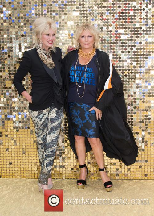 Jennifer Saunders and Joanna Lumley 3
