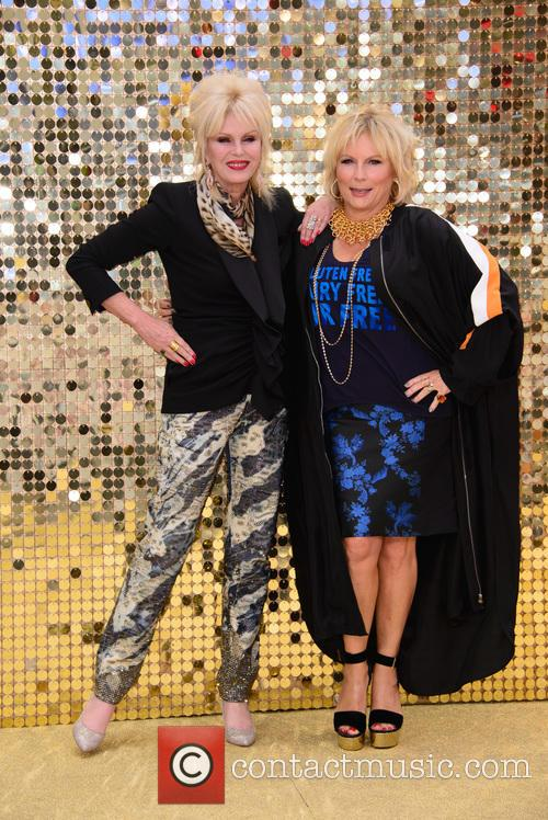 Jennifer Saunder and Joanna Lumley 1